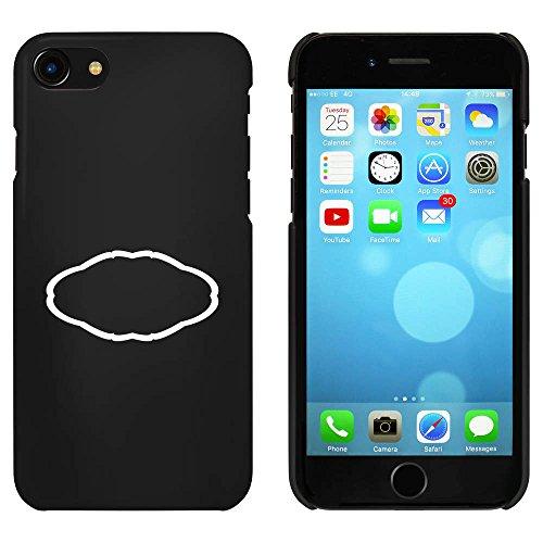 Noir 'Cadre Décoratif' étui / housse pour iPhone 7 (MC00073227)