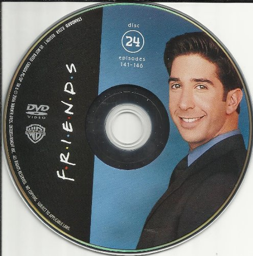 Friends The Complete Series Disc 24 Episodes 141-146 Replacement Disc!