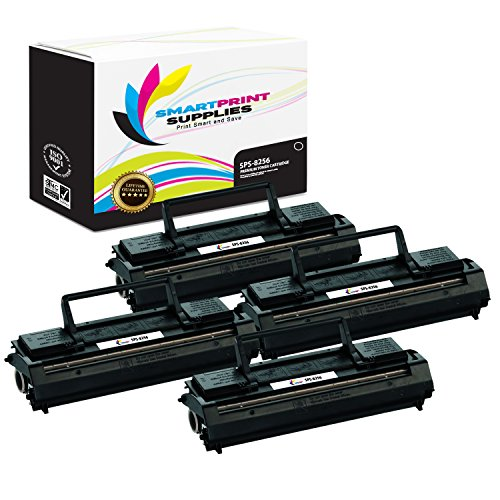 Smart Print Supplies Compatible 69G8256 Black Toner Cartridge Replacement for Lexmark Optra E4026 E4026 Plus, Ep, ES Printers (3,000 Pages) - 4 Pack