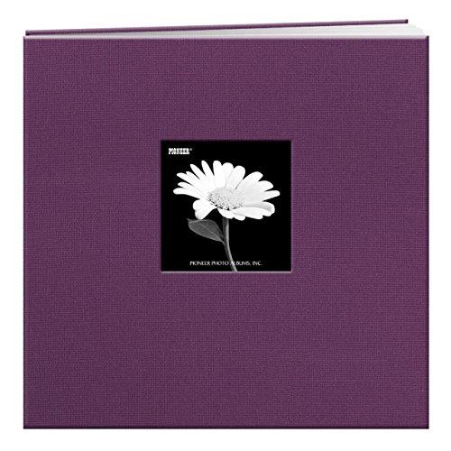 Postbound Fabric Frame Scrapbook Album - 7