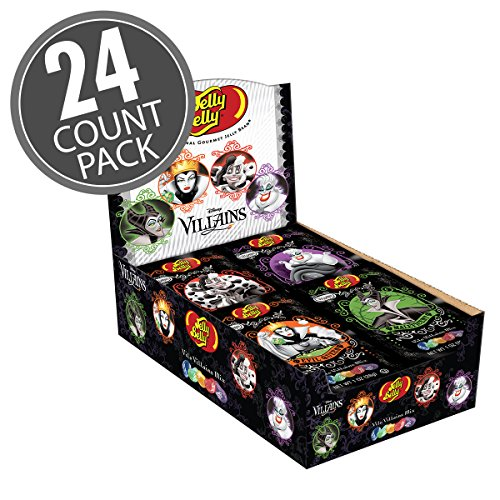 Disney The Vile Villains Collection by Jelly Belly 1 oz Bags - 24 Count -