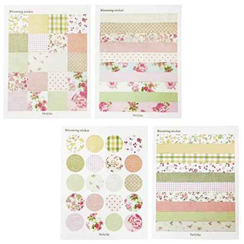 Wrapables Decorative Countryside Pattern Sticker Set
