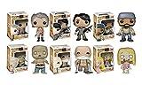 Funko POP! Walking Dead TV Vinyl Toy Figure Edition Five Series 5 Collector Set