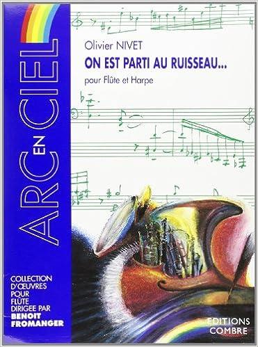 Livre gratuits On est parti au ruisseau  pour Flûte et Harpe pdf, epub ebook