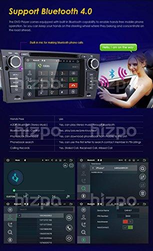 hizpo Android 7 1 Quad Core 7 Inch Car Stereo Multi-Touch