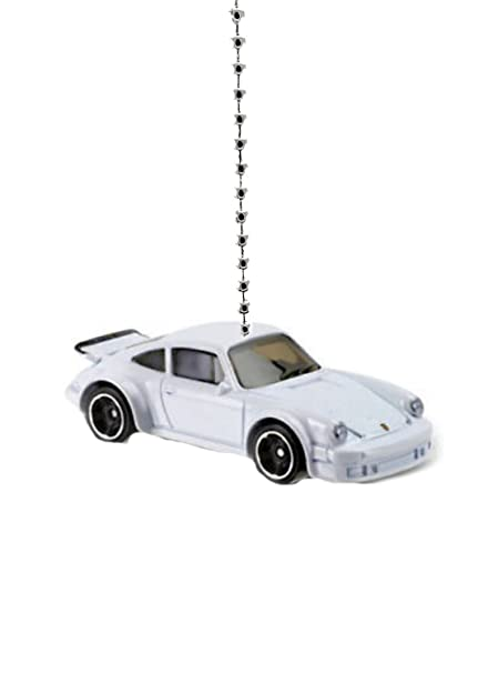 Hot Wheels Porsche Ceiling Fan Light Chain Pulls (White Porsche 934 Turbo RSR) - - Amazon.com