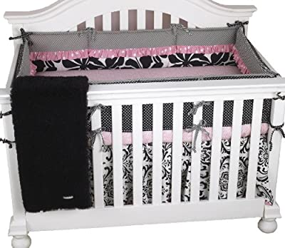 Cotton Tale Designs Girly 4 Piece Crib Bedding Set by Cotton Tale Designs