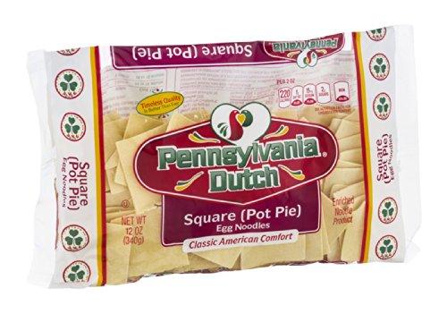 Pennsylvania Dutch Square Pot Pie Egg Noodles 12 OZ (Pack of 24)