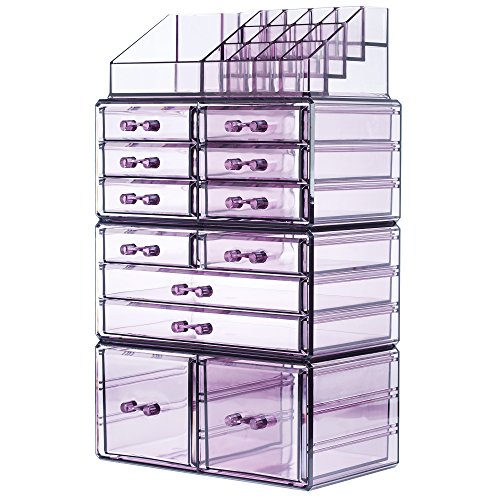 Readaeer Makeup Cosmetics Organizer Storage Display Boxes wi