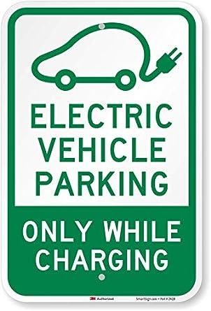 Elektromobiļu stāvvietas zīme