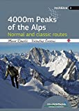 4000 m peaks of the Alps. Normal and classic routes