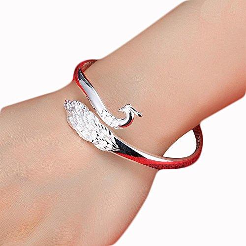 JINGMEI exotique 999 en argent sterling bracelet dames