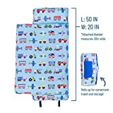 Wildkin Original Nap Mat with Pillow for Toddler