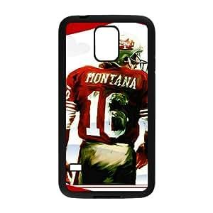 joe montana painting Phone Case for Samsung Galaxy S5 Case by icecream design