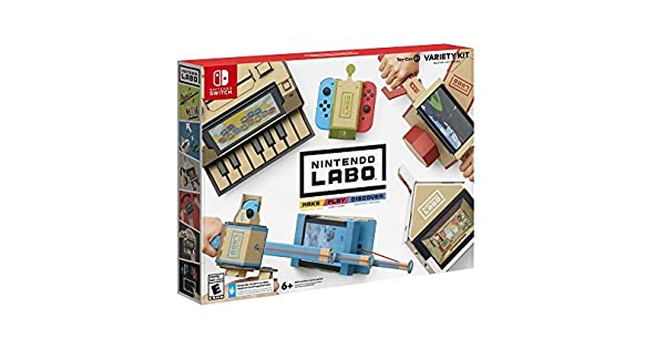 Amazon com: Nintendo Labo - Variety Kit: Switch: Nintendo of America