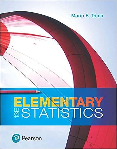 Elementary statistics 13 mario f triola amazon fandeluxe Images