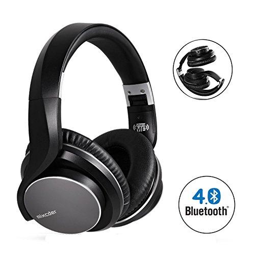 save 17 mixcder wireless bluetooth headphones over ear. Black Bedroom Furniture Sets. Home Design Ideas