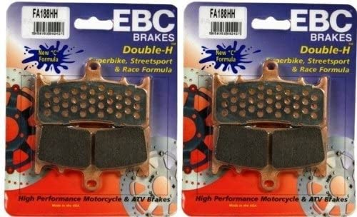 EBC Extreme Pro Race Front Brake Pads for Kawasaki ZRX1200 2001-2008 EPFA188HH