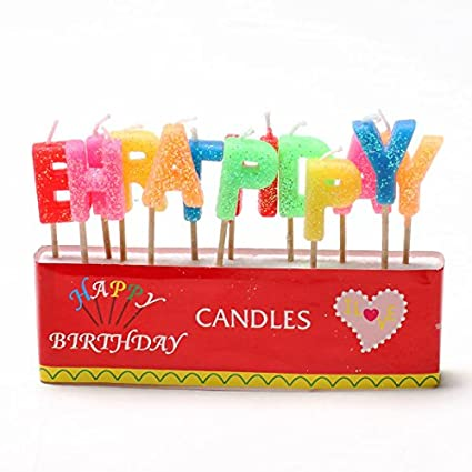 Amazon Colorful Birthday Candle Flameless Gift Home