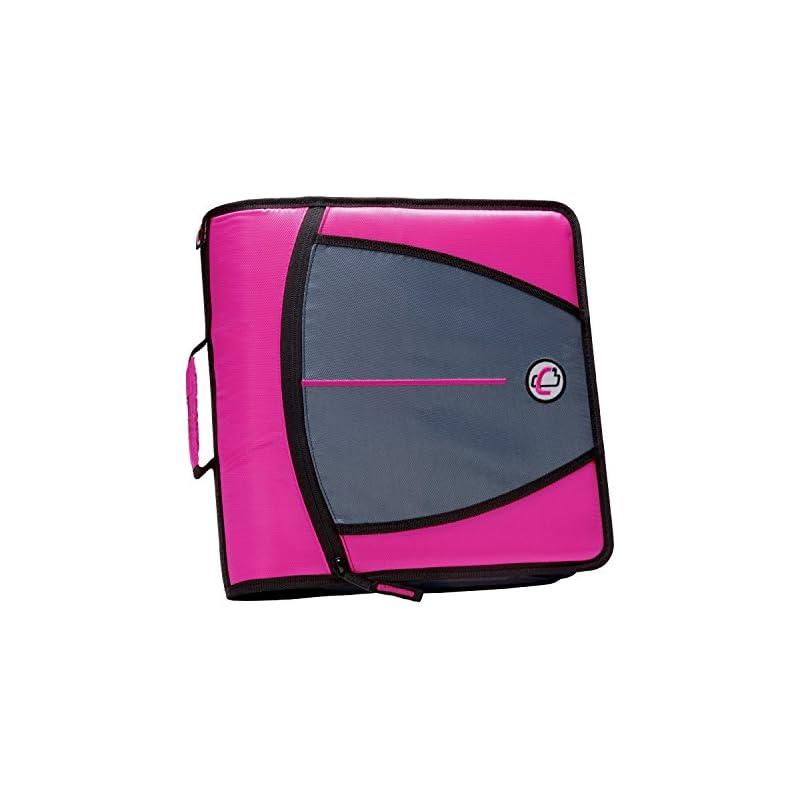 Case-it Mighty Zip Tab 3-Inch Zipper Bin