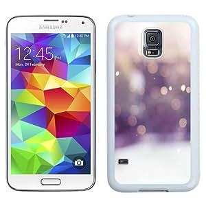 Fashionable Custom Designed Samsung Galaxy S5 I9600 G900a G900v G900p G900t G900w Phone Case With Winter Snow Bokeh_White Phone Case