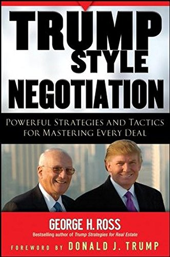Download Trump-Style Negotiation: Powerful Strategies and Tactics for Mastering Every Deal ebook