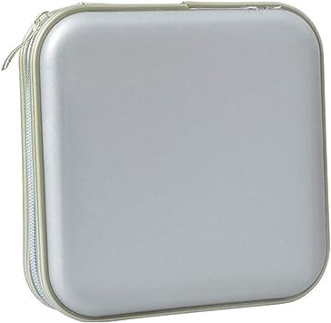 Fanspack Caja de CD 40 Capacidad Organizador de DVD Caja de CD de Plástico Organizador de CD Soporte de DVD Protector de CD para Auto en Casa: Amazon.es: Electrónica