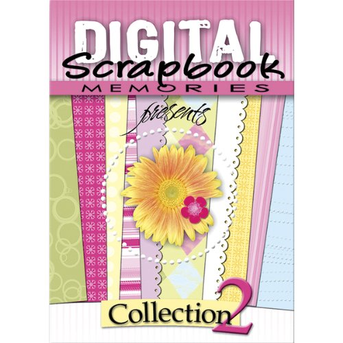 Scrapbooking Eyelets Card (DIGITAL SCRAPBOOK MEMORIE Software, Collection 2)