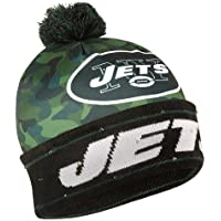 Forever Collectibles NFL New York Jets Camo Light Up Knit Hat …