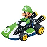 Carrera 64034 GO Analog Slot Car Racing Vehicle Nintendo Mario Kart 8-Luigi-(1:43 Scale)