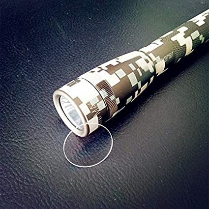Mini Maglite PRO a LED AA modalit/à 22mm Mini Maglite PRO Weltool GL3 Lente in Vetro Temperato per Torcia Mini Maglite Mini Maglite a LED