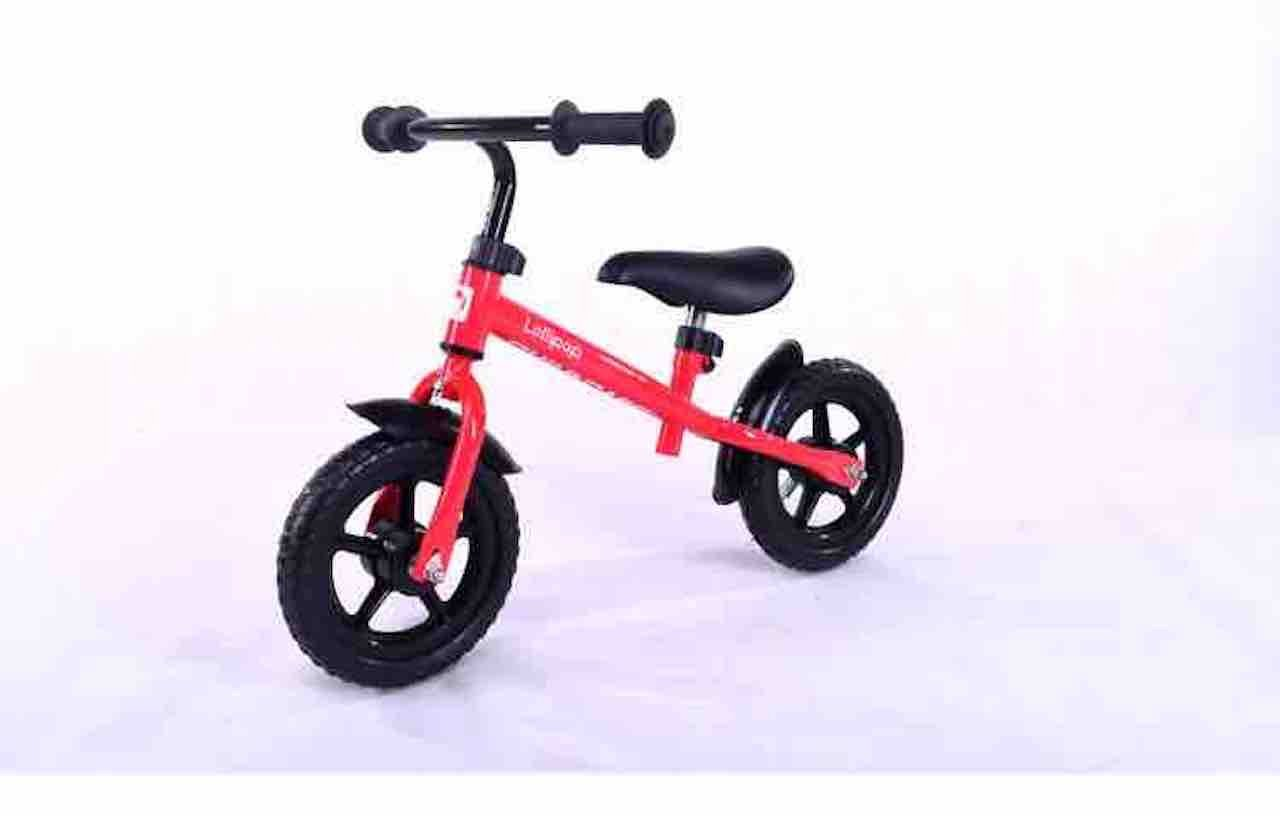 12inch子供バランス自転車、カーボンプラスチックホイール、スチールフレーム、レッド、ブルー、イエロー、ピンク、グリーン B07CVL1VBY レッド レッド