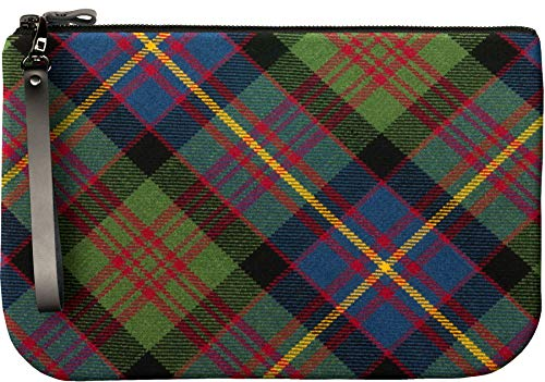 Fit Leather to Enough Clutch Medium Tartan Cameron an Bag With iPad Large FAzzqUw