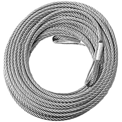BILLET4X4 Come-Along Winch Replacement Cable - Galvanized (Off-Road Vehicle Recovery)