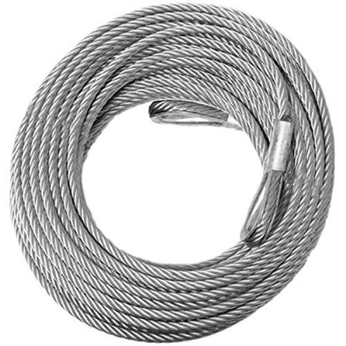 COME-ALONG WINCH Replacement CABLE - 5/16 inch X 100 ft (9, 800lb strength) (VEHICLE RECOVERY) BILLET4X4