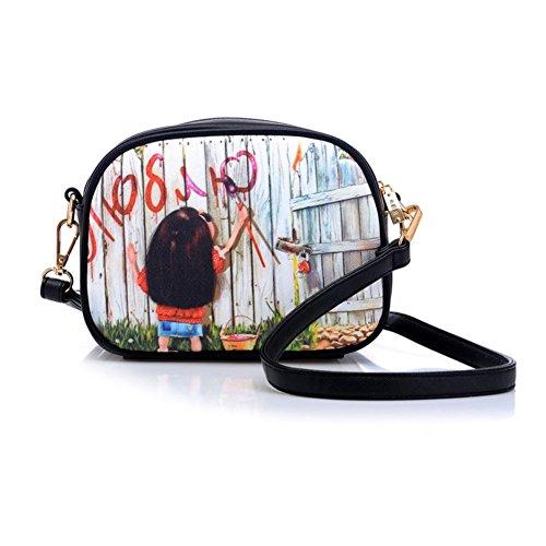 MAINLYCOR CHB880440C3 Fashion PU Leather Women's Handbag,Square Cross-Section Picture - London Fendi Shop