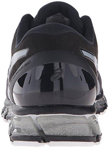 Mens Onyx Gel 360 ASICS cm White Silver Running Quantum Shoe Sd1qww0x