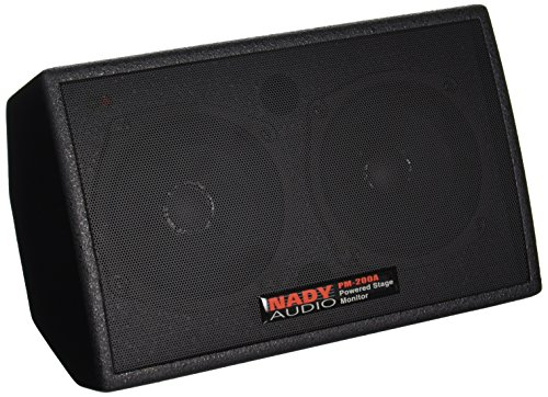 Nady PM-200A Powered Personal Stage Monitor - 150W RMS - XLR and ¼