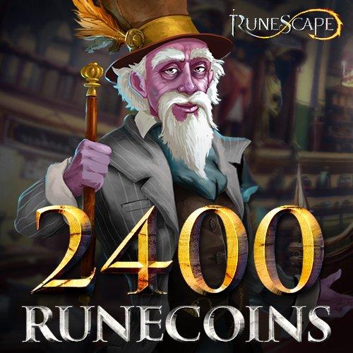 2400 Runecoins  Runescape  Instant Access