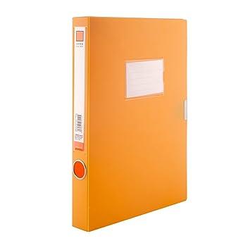 Archivadores de palanca A4 documento caja archivo de carpeta, tamaño folio, 35 mm Capacidad de almacenamiento: Amazon.es: Oficina y papelería