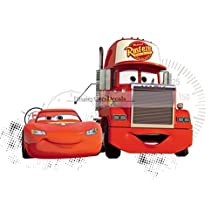 """10"""" Team 95 Mack Truck Disney Pixar Cars 2 Movie Removable Wall Decal Sticker Art Home Racing Decor 9 3/4 by 9 inches"""