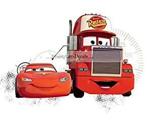 Amazoncom Inch Team Mack Truck Disney Pixar Cars Movie - Wall decals carscars wall decals add photo gallery car wall decals home design ideas