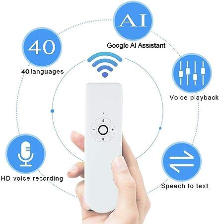Traducteur Intelligent Portable traducteur Vocal instantan/é Voyage Traducteur Multilingue Poche avec 40 Multi Langues traducteur electronique pour R/éunion Etude