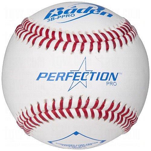 (Baden 3B-Nfhs Perfection Pro Leather Baseballs 1 Dozen)