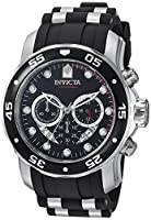 "Invicta Men's 6977 ""Pro Diver Collection"" Stainless Steel and Black Polyurethane Watch from Invicta"