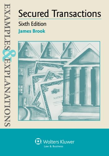 Examples & Explanations for Secured Transactions (Examples and Explanations) por James Brook