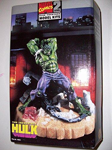 Marvel Comics Incredible Hulk Lvl 2 Plastic Model (Lvl Kit)