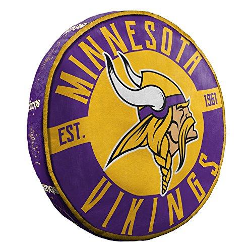 Northwest Minnesota Vikings NFL 15in Cloud Travel Pillow