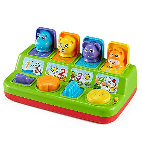 Interactive Pop-Up Animals Toy for Toddlers TG728 - Gift for Boys & Girls Aged 1 2 3 4 5]()