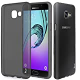 Galaxy A5 Case, Tauri [Scratch Resistant] Premium Ultra Slim Thin Clear Flexible Soft TPU Gel Skin Protective Case Cover for Samsung Galaxy A5 (2016) - Smoke Black